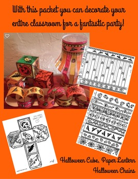 Everything You Need For An Awesome Halloween! Decor Activities FUN!