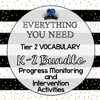 Everything You Need! K-2 Vocabulary Bundle