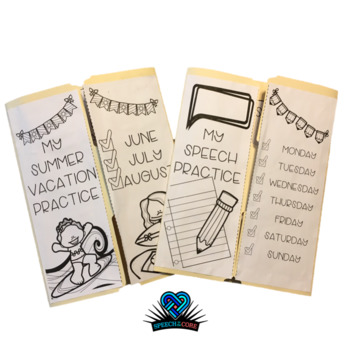 Everything You Need! Speech Lap Book