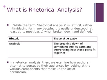 Everything You Need To Know About Rhetorical Analysis
