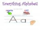 Everything You Need To Teach the Alphabet!