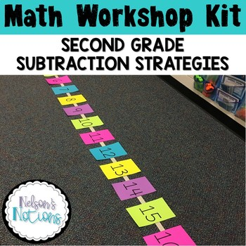 Math Workshop Kit  - Second Grade Subtraction Strategies