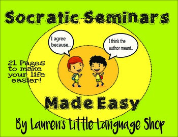 Socratic Seminars Made Easy