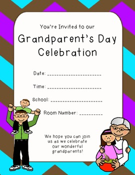 Everything You Need to Host a Grandparent's Day Celebration Event