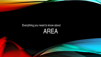Everything You Need to Know About Area