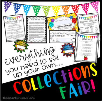 Everything You Need to Set Up a COLLECTIONS FAIR!