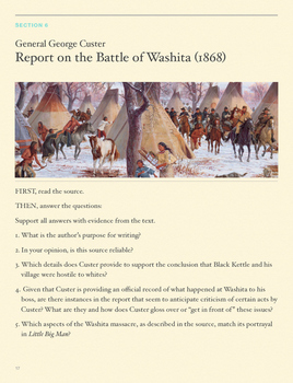 Everything You Need to Teach Custer's Last Stand