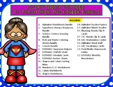 Everything You Need to Teach Prek and Kinder MEGA BUNDLE