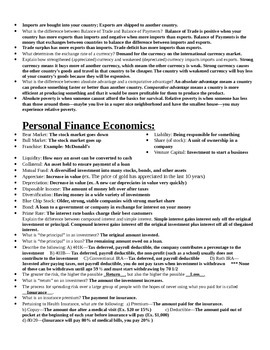 Everything You Should Have Learned in High School Economics (but didn't)