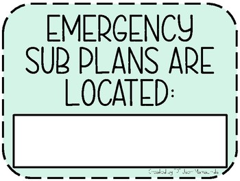 Everything Your Sub Needs To Know On 9 Posters- Army Green