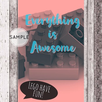 Everything is Awesome! Teacher, Counselor & Social Work Office Decor