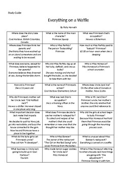 Everything on a Waffle Battle of the Books Study Guide
