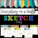 Everything on a Waffle Sketch Notes