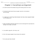 Everything's an Argument Ch. 1 Close Reading Notes