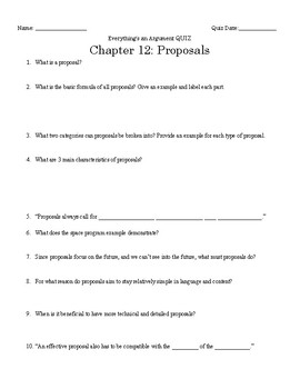 Everything's an Argument Ch. 12 Close Reading Notes
