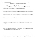 Everything's an Argument Ch. 5 Close Reading Notes