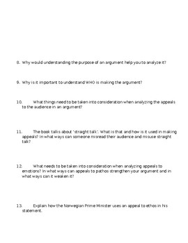 Everything's an Argument Ch. 6 Close Reading Notes