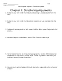 Everything's an Argument Ch. 7 Close Reading Notes