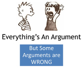 Everything's an Argument--Logical Fallacies