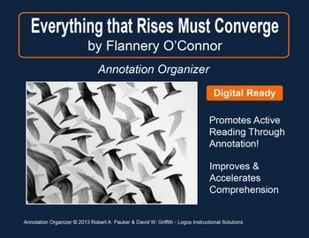 """""""Everything that Rises Must Converge"""" by Flannery O'Connor"""