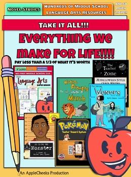 Everything we make for life!  TAKE IT ALL (FOR-EE-VER) (sorry, Sandlot joke)