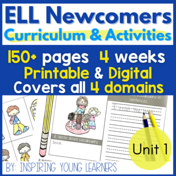 Everything you Need for ELL Newcomers {Unit 1}