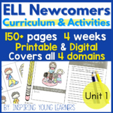 ELL Newcomers Unit 1 { ESL Newcomers | ESL Beginners | ELL