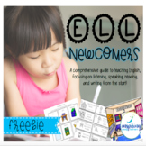Everything you Need for ELL Newcomers {FREEBIE}