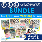 ELL Newcomers Bundle { ESL Newcomers Activities | ELL Resources | ESL Lessons }