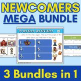 ELL Newcomers Mega Bundle  { ESL Newcomers | ESL Curriculum | ESL Beginners }