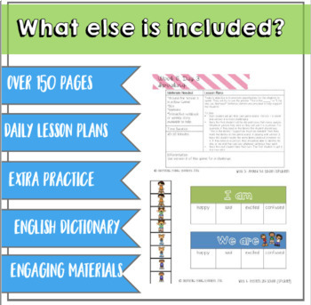 Everything you Need for ELL Newcomers {Unit 2}