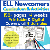 Everything you Need for ELL Newcomers Unit 2 { ESL Newcome