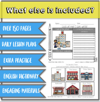 Everything you Need for ELL Newcomers {Unit 5}