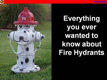 Everything you ever wanted to know about fire hydrants