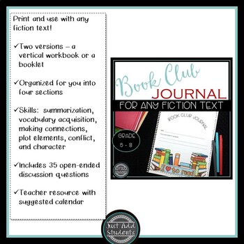 Everything you need for Book Clubs and Literature Circles Bundle