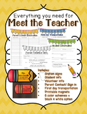 Everything you need for MEET THE TEACHER