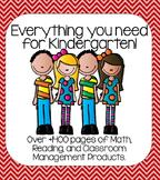 Everything You Need for Kindergarten: Complete Kindergarte