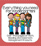 Complete Kindergarten Curriculum (Everything you need to k