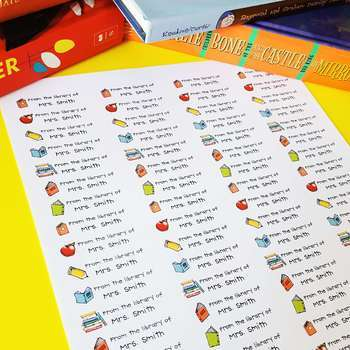 Organize your Classroom Library by Genre 2-3: Editable+Print & Go Labels & MORE