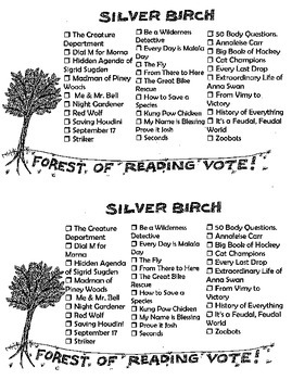 Everything you need to run the forest of reading program!