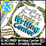Writing Center Activities for 2nd Grade 3rd Grade Literacy Centers