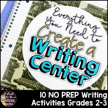 Writing Center Activities | 2nd Grade 3rd Grade | Distance Learning