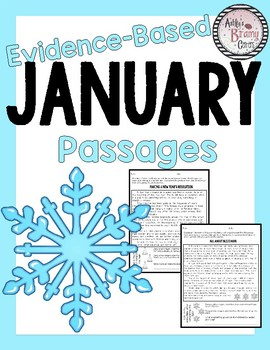January Evidence Based Comprehension and Fluency Passages