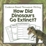 "Paleontology Unit Study: Persuasive Writing ""How Did Dinosaurs Go Extinct?"""