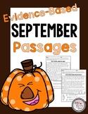 Evidence-Based Passages for September