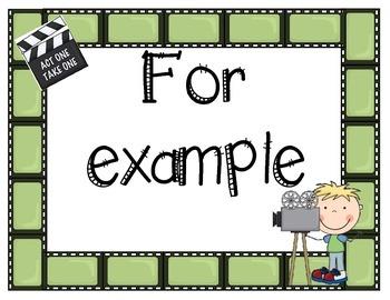 Evidence Based Phrases - Hollywood Theme