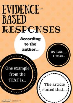 Evidence-Based Responses Poster