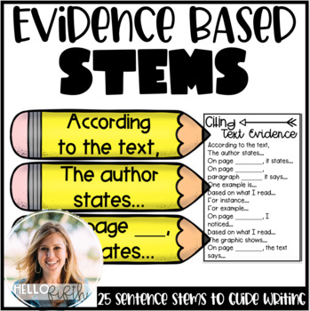 Evidence-Based Sentence Stems