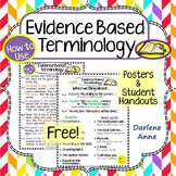 Evidence Based Terminology