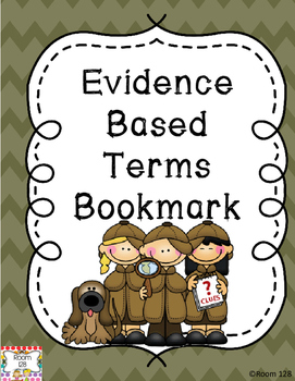Evidence Based Terms Bookmark